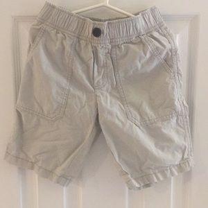 Khaki kids shorts